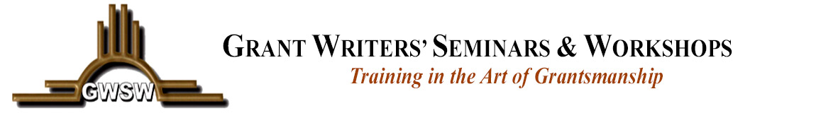 Grant Writers' Seminars & Workshops
